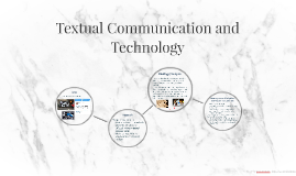 Textual Communication and Technology
