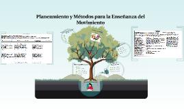 planeamiento y mètodos para la enseñanza del movimiento