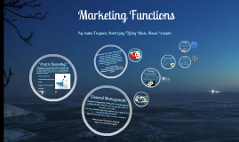 Marketing Functions (Business)