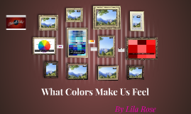 What Colors Make Us Feel