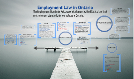 Employment Law in Ontario
