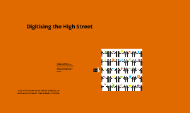 Digitising the High Street