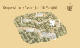 Request To A Year- Judith Wright