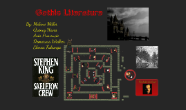 an analysis of gothic literature Professor john mullan examines the origins of the gothic, explaining how the genre became one of the most popular of the late 18th and early 19th centuries, and the subsequent integration of gothic elements into mainstream victorian fiction.