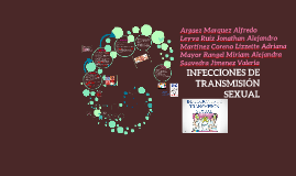Copy of INFECCIONES DE TRANSMISIÓN SEXUAL