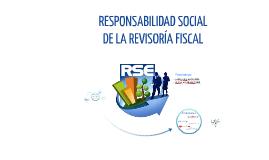 LA RESPONSABILIDAD SOCIAL DEL REVISOR  FISCAL