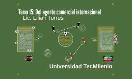 Copy of Tema 15: Del agente comercial internacional