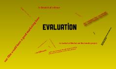 Evaluation: Question 3