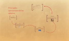 Principales aportaciones de los egipcios