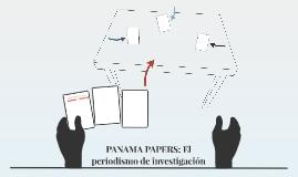 PANAMA PAPERS: El periodismo de investigación
