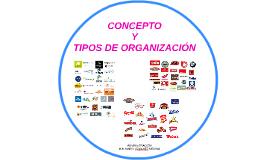 Copy of CONCEPTO Y TIPOS DE ORGANIZACIÓN