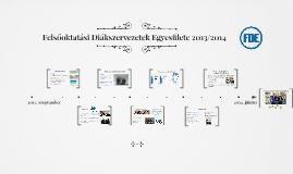 FDE beszámoló 2013/2014
