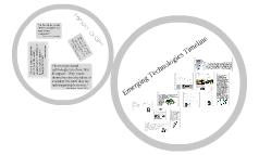 Emerging Technologies Timeline