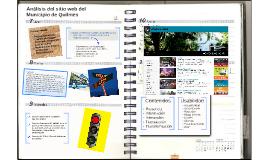 Análisis del sitio web del Municipio de Quilmes