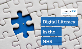 Digital literacy in the NHS