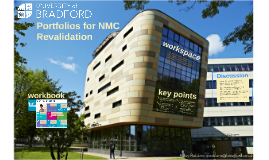 Portfolios for NMC Revalidation