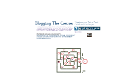 BLOGGING THE COURSE