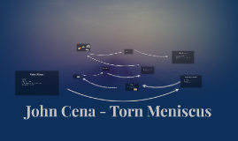 John Cena - Torn Meniscus