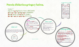 Poesa didctica griega y latina by brenda ponce on prezi fandeluxe Images
