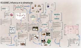 Copy of RELIGIONES, Influencia en la alimentación.