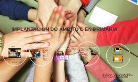IMPLANTACION DO ÁMBITO C EN PRIMARIA