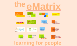 21st Century Competencies and communities: developing the eMatrix