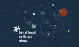 Types of Rsearch used in social sciences.