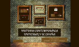 Presentación 4º ESO: Historia Contemporánea