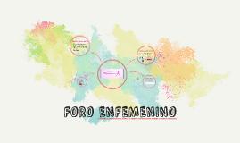 FORO ENFEMENINO