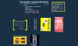 Strategic communication, Session 4: Cross-media