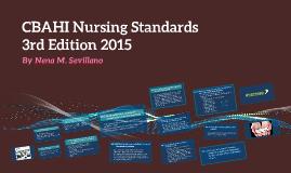 CBAHI Nursing Standards