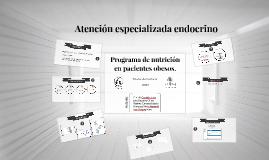 Programa de nutrición en pacientes obesos. Atención especial