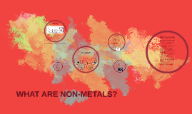 What are Non-Metals