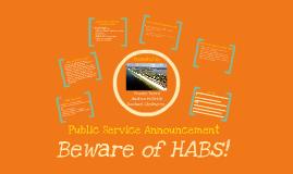 HABs Public Service Announcement