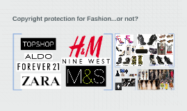 Copyright protection for Fashion...or not?