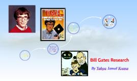 Copy of Bill Gates Reasearch