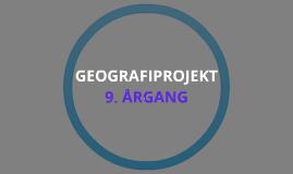 Geografiprojekt