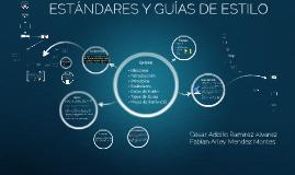 Copy of  GUÍAS DE ESTILO y estándares en gui
