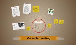 1. Weltkrieg - Der Vertrag von Versailles
