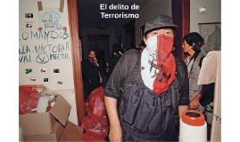 El delito de Terrorismo