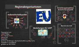 Regionalorganisation EU