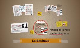 Copy of La Bauhaus