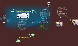Alzheimber's Disease
