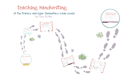 Teaching Handwriting At the Primary and Upper Elementary Grade Levels