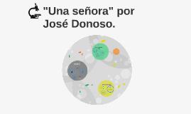 """Copy of """"Una señora"""" por José Donoso."""