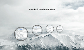 Survival Guide to Yukon