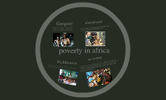 POVERTY of the AFRICANS