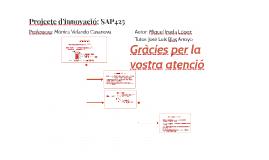 Projecte d'innovació; SAP425