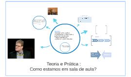 Teoria e Prática Pedagógica: