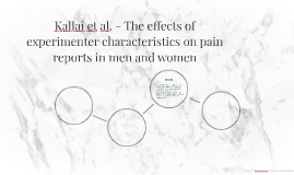 Copy of Reporting of Pain - Kállai et al.